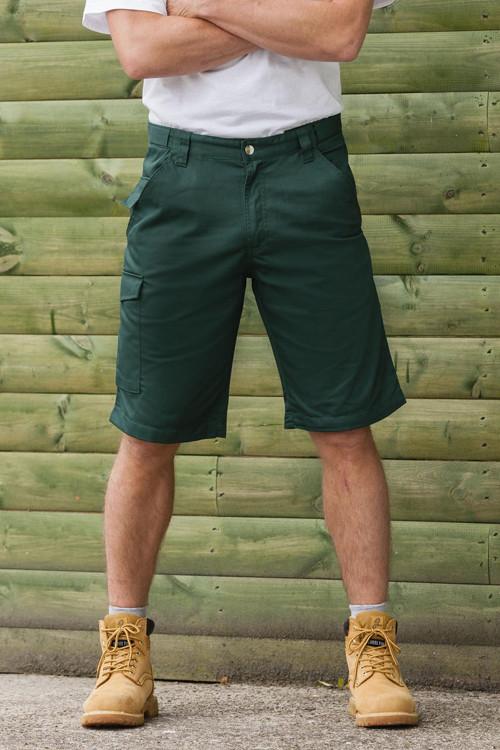 Pantaloni scurţi de lucru Twill Russell
