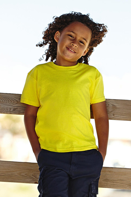 Tricou pentru copii Value Weight Fruit of the Loom