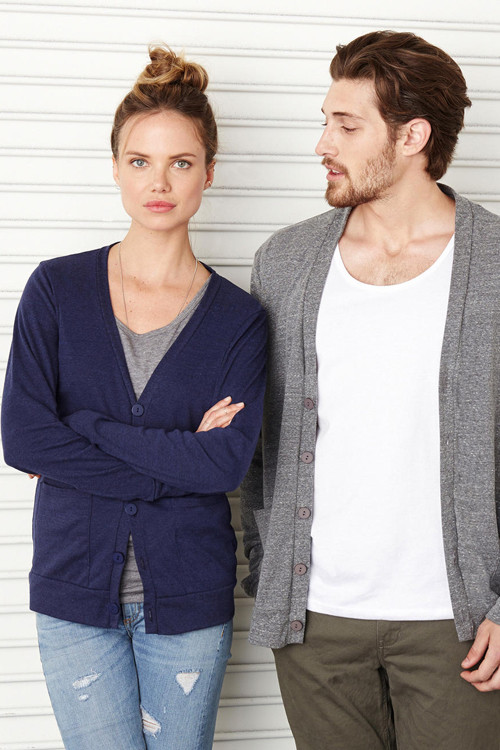 Cardigan Unisex Triblend Bella + Canvas