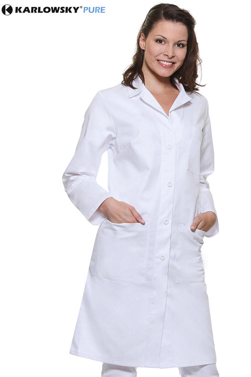 Halat medical damă Cotton Basic Karlowsky