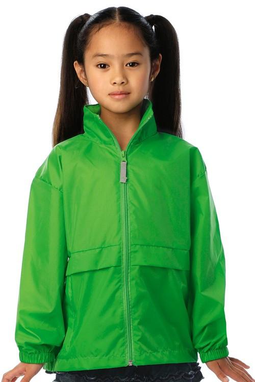 Jacheta de copii cu protecție împotriva vântului B&C Collection