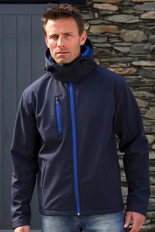 Jachetă softshell cu glugă TX Performance Result Core