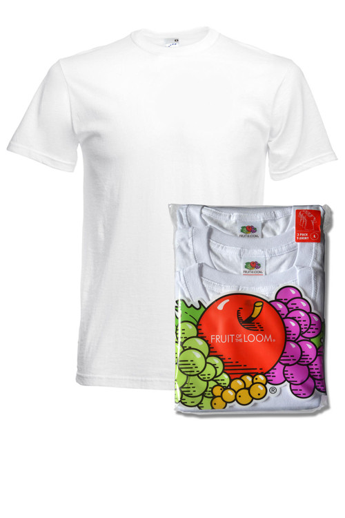 Set tricou corp bărbat Fruit of the Loom