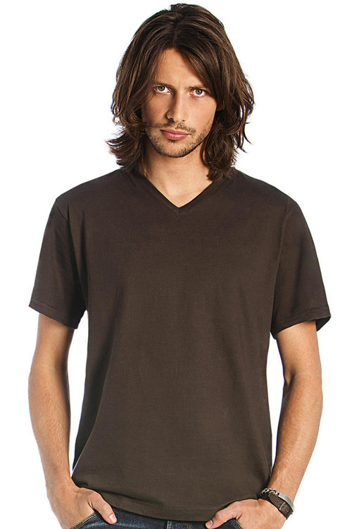 Tricou de bărbat clasic V-neck B&C Collection