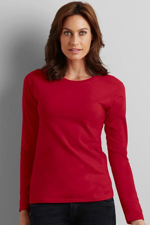 Tricou cu mânecă lungă Softstyle® Gildan