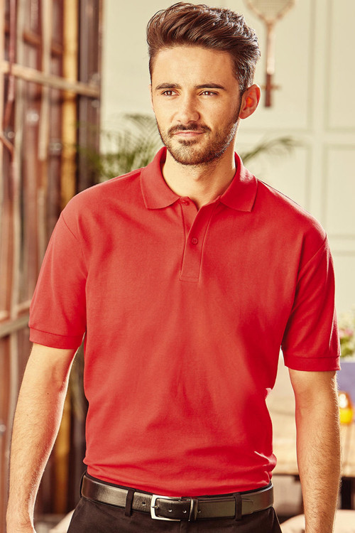 Tricou polo Blended Fabric Russell