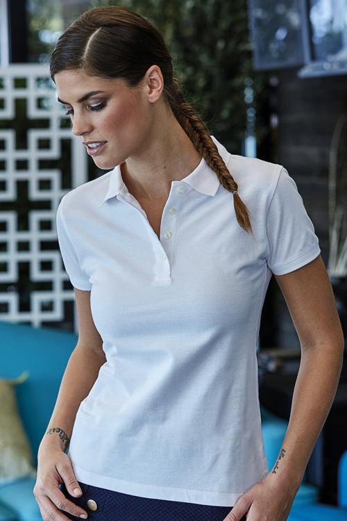 Tricou polo damă Heavy Pique Tee Jays