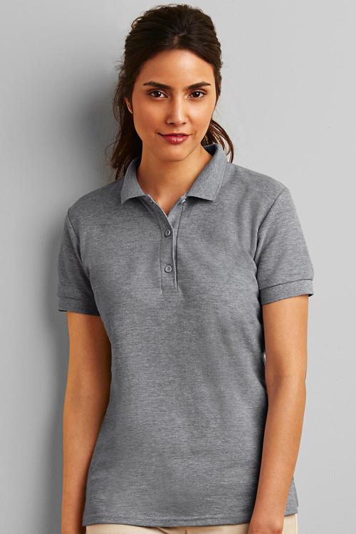Tricou Polo de damă Premium Double Piqué Gildan