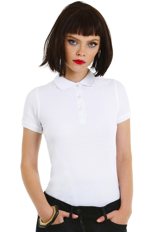 Tricou polo de damă Safran Timeless B&C Collection