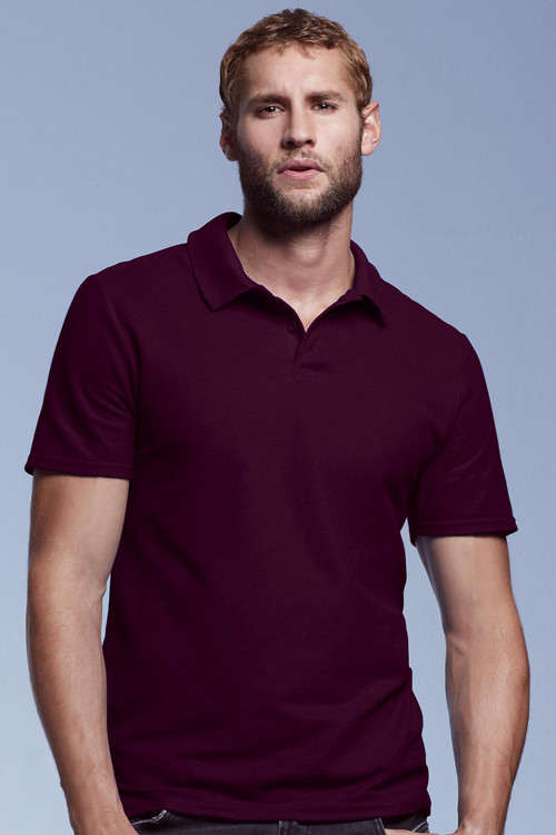 Tricou polo Double Piqué Anvil