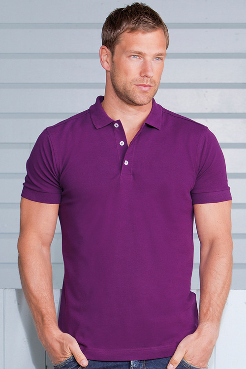 Tricou polo Stretch Russell