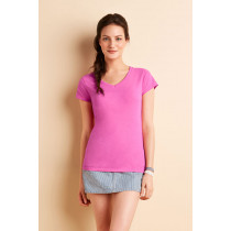 Tricou de damă V-decolteu Softstyle Gildan