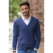 Cardigan bărbați tricotat V-decolteu Russell Collection