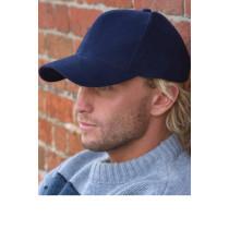 Șapcă din bumbac greu periat Result Headwear