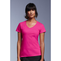Tricou damă V-decolteu Fashion Basic Anvil