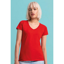 Tricou damă V-decolteu Iconic 150 Fruit of the Loom