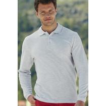 Tricou polo Premium cu mâneca lungă Fruit of the Loom