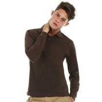 Tricou polo Safran cu mâneca lungă B&C Collection