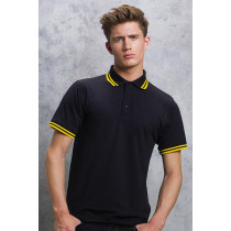 Tricou polo Tipped Collar Kustom Kit