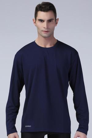 Tricou cu mânecă lungă Performance Spiro